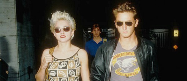 madonna sean penn divorce scandals