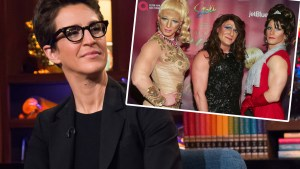 rachel maddow gay party ban