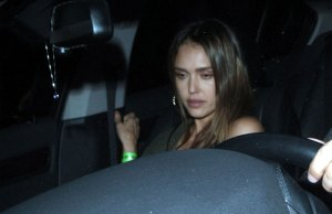 jessica alba hollywood party