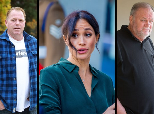 meghan markle father feud scandal