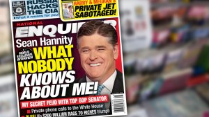 sean hannity national enquirer cover story