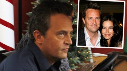 matthew perry courteney cox obsession
