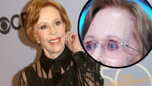 carol burnett bald aging health worry