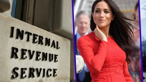 Meghan markle us citizen taxes irs f