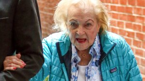 Betty-White-Steps -Out-And-Has- Trouble-Walking- Ahead-Of-97th- Birthday