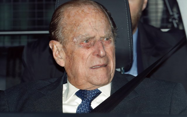 Prince Philip Involved in Car Accident