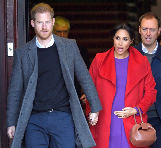 Stalkers and Swingers Scare Off Meghan and Harry Embed