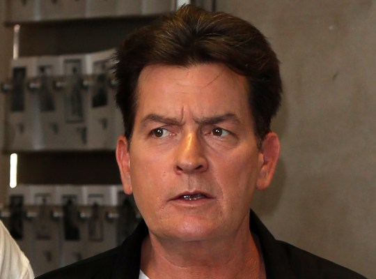 Charlie Sheen Nearly Homeless