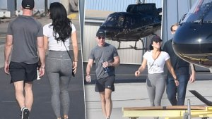 Jeff Bezos Lauren Sanchez Helicopter Ride