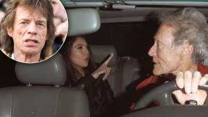 Mick Jagger's Ex Noor Alfallah Spotted With Clint Eastwood