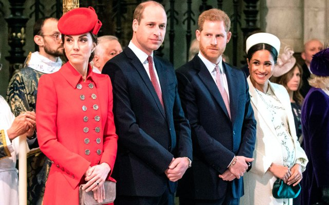 Harry and Meghan Officially Split Royal Households From William and Kate