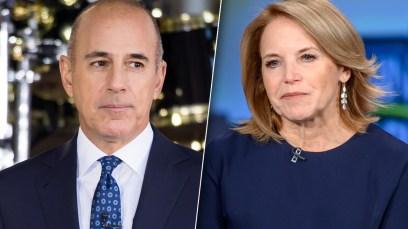 Lecher Matt Lauer Is 'Freaking' Out By Katie Couric's New Tell-All