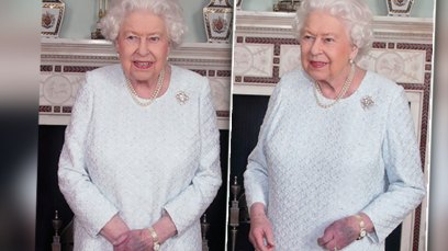 Queen Elizabeth's Hands Are Bruised And Purple In Shocking New Photos