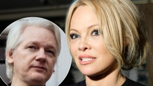 Ex-'Baywatch' Star Terrified Romps With Julian Assange Will Be Leaked