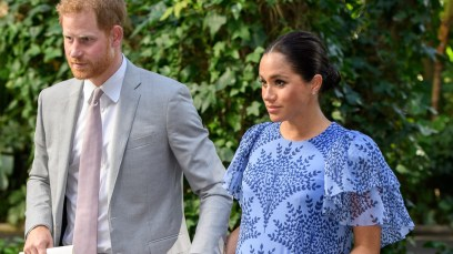 Meghan Markle and Prince Harry Fly Home
