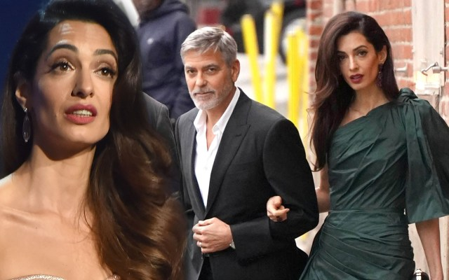Amal Clooney Storms Out On George Clooney's Birthday