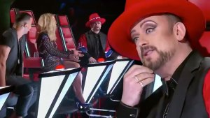 Boy George Storms Off 'The Voice Australia Stage'