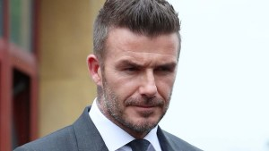 David Beckham Forbidden to Drive After Getting Busted on Cell Phone