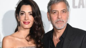 George Clooney Amal Clooney Kids Have British Accents