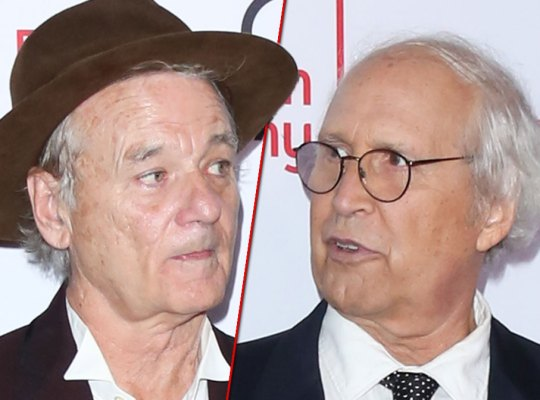 Bill Murray's Chevy Chase Face Off!