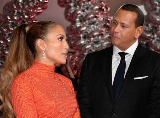 J.Lo Cracking Down On Horndog A-Rod