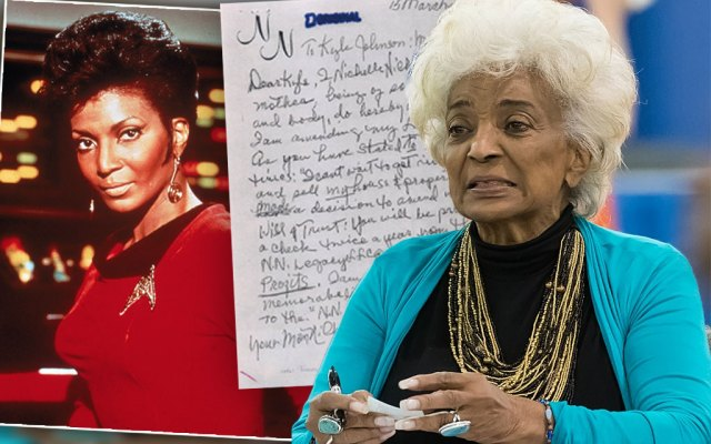 Star Trek Star Nichelle Nichols Changes Will