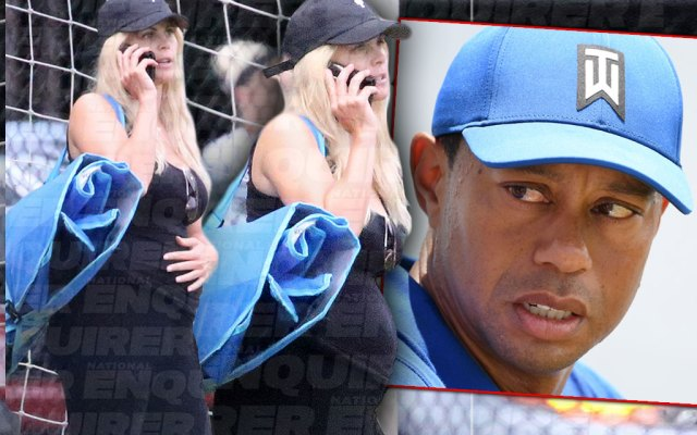 Tiger Woods' Bump Shock! Ex Elin Nordegren Is Pregnant