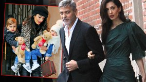 George and Amail Cloney Inet Amal Clooney With The Twins