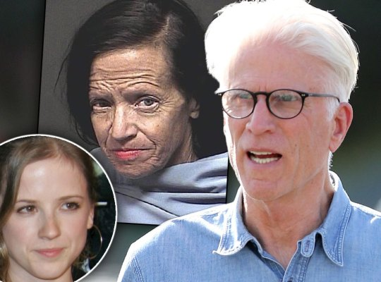 Ted Danson's Baby Mama Is A Homeless Ex-Con!
