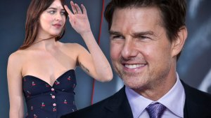Tom Cruise Crushing On '50 Shades' Star Dakota Johnson!