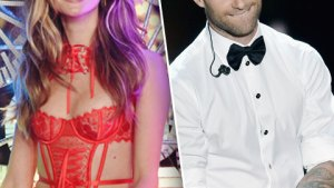Behati Prinsloo & Adam Levine's Naughty Secret