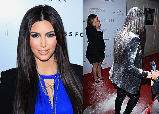 Kim K Flour Bombed National Enquirer